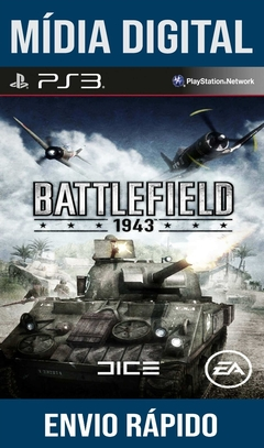 Battlefield 1943 Ps3 Psn Mídia Digital