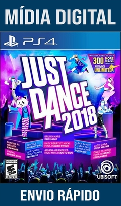 Just Dance 2018 Ps4 Psn Original 1 Mídia Digital (Dub Br)