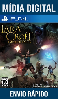 Lara Croft And Temple Of Osiris Ps4 Psn Original 1 Mídia Digital
