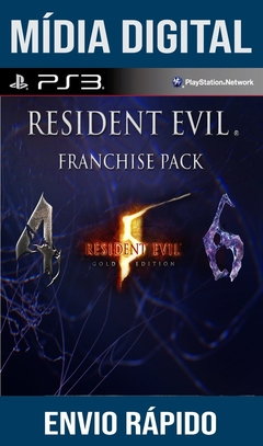 Resident Evil Franchise Pack Ps3 Psn Mídia Digital