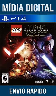 Lego Star Wars The Force Awakens Ps4 Psn Original 1 Mídia Digital (Leg Br)