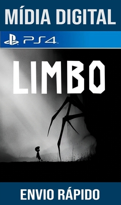 Limbo Ps4 Psn Original 1 Mídia Digital (Dub Br)