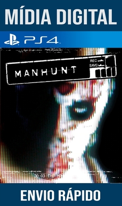 Manhunt Ps4 Psn Original 1 Mídia Digital