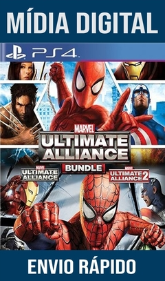 Marvel Ultimate Alliance Blunde Ps4 Psn Original 1 Mídia Digital