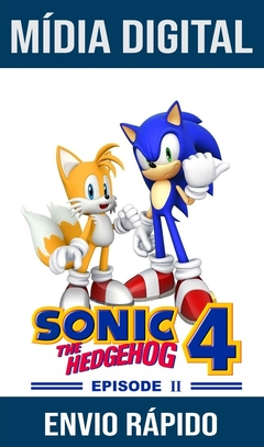 SONIC THE HEDGEHOG 4 EPISODE 2 PS3 PSN MÍDIA DIGITAL