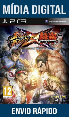 Street Fighter X Tekken Ps3 Psn Mídia Digital