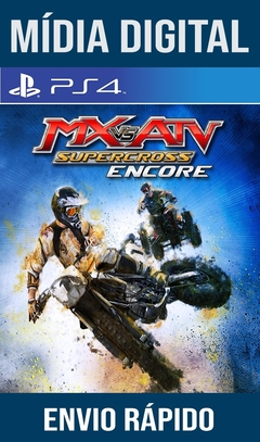 MX Vs ATV Supercross Encore Ps4 Psn Original 1 Mídia Digital