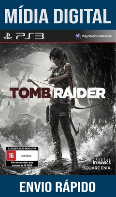 Tomb Raider Ps3 Psn Mídia Digital (Leg Br)