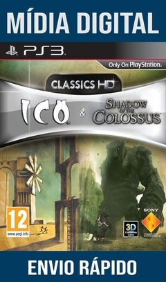 Ico & Shadow Of The Colossus Collection Ps3 Psn Mídia Digital