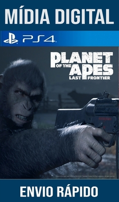 Planet Of The Apes Last Frontier Ps4 Psn Original 1 Mídia Digital (Leg Br)