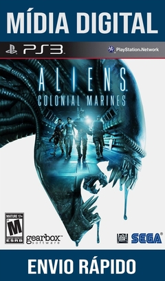 Alien Colonial Marines Ps3 Psn Mídia Digital