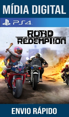 Road Redemption Ps4 Psn Original 1 Mídia Digital (Leg Br)