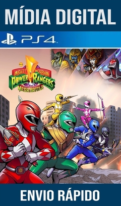 Saban's Mighty Morphin Power Ranger Mega Battle Ps4 Psn Original 1 Mídia Digital