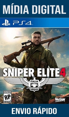 Sniper Elite 4 Ps4 Psn Original 1 Mídia Digital (Leg Br)