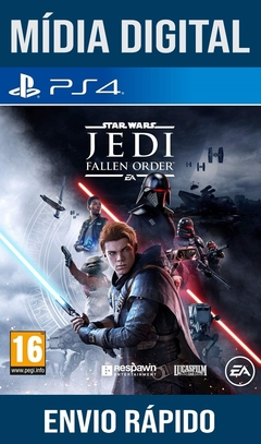 Star Wars Jedi Fallen Order Ps4 Psn Original 1 Mídia Digital (Dub Br)