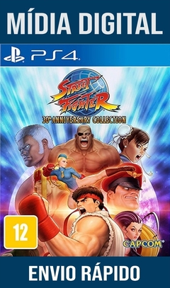 Street Fighter 30TH Anniversary Collection Ps4 Psn Original 1 Mídia Digital