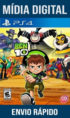 Ben 10 Ps4 Psn Original 1 Mídia Digital