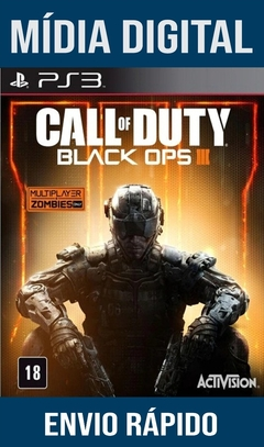 Call Of Duty Black Ops III PS3 PSN Mídia Digital