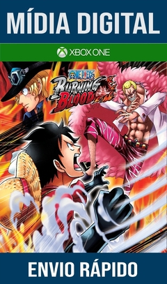 One Piece Burning Blood Xbox One Primária Mídia Digital