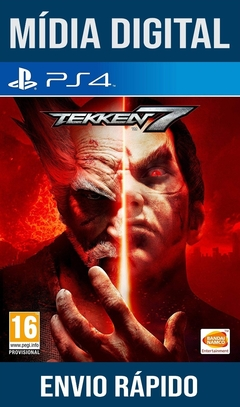 Tekken 7 Ps4 Psn Original 1 Mídia Digital (Leg Br)