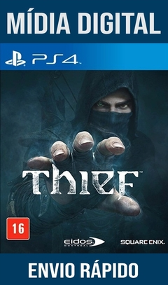 Thief Ps4 Psn Original 1 Mídia Digital