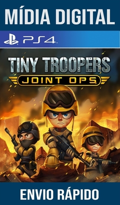 Tiny Troopers Joint Ops Ps4 Psn Original 1 Mídia Digital