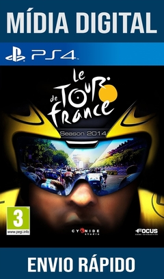 LE TOUR DE FRANCE: SEASON 2014 PS4 PSN ORIGINAL 1 MÍDIA DIGITAL