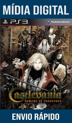 Castlevania Lament Of Inocence Ps3 Psn Mídia Digital