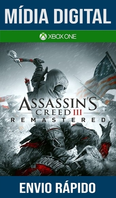 Assassins Creed III Remastered  Xbox One Primária Mídia Digital  (Dub Br)