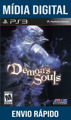 Demons Souls Ps3 Psn Mídia Digital