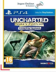Uncharted Drake's Fortune Ps4 Psn (Dub Br)