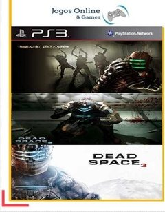 Pacote Dead Space Ps3 Psn