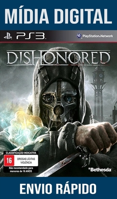 Dishonored Ps3 Psn Mídia Digital