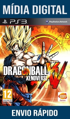 Dragon Ball Xenoverse Ps3 Psn Mídia Digital (Leg Br)