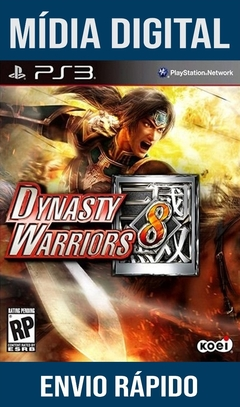 Dynasty Warriors 8 Ps3 Psn Mídia Digital