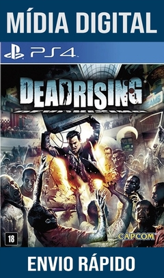 Dead Rising Ps4 Psn Original 1 Mídia Digital