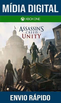 Assassins Creed Unity Xbox One Primária Mídia Digital (Dub Br)