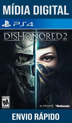 Dishonored 2 Ps4 Psn Original 1 Mídia Digital