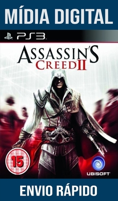 Assassins Creed II 2 Ps3 Psn Mídia Digital