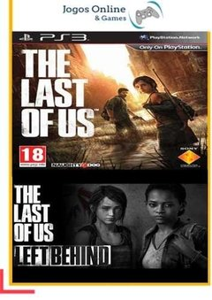 Pacote The Last Of Us + Dlc  Ps3 Psn (Dub Br)