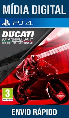 Ducaty 90th Anniversary Ps4 Psn Original 1 Mídia Digital