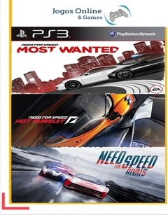 Pacote Need For Speed Ps3 Psn