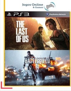 Pacote The Last Of Us + Battlefield 4 Ps3 Psn