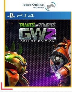 Plants Vs Zombies Garden Warfare 2 Deluxe Edition Ps4 Psn (Dub Br)