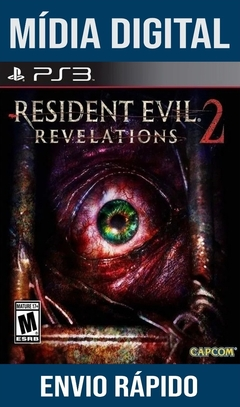 Resident Evil Revelations 2 Ps3 Psn Mídia Digital