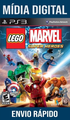 Lego Marvel Super Heroes Ps3 Psn Mídia Digital (Leg Br)
