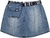 Short Saia Jeans Authoria