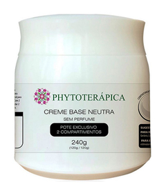 Creme Base Neutra 240G - à base de manteiga de cupuaçu