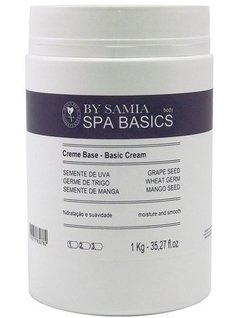 By Samia Spa Basics Creme Base Neutro com Óleos Vegetais