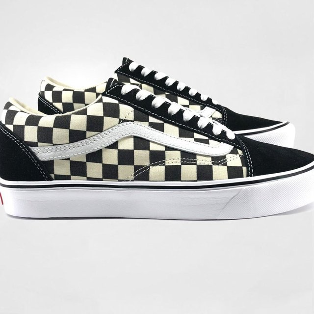 Tênis Vans Old Skool Lite Checkerboard Clearance Shop